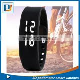 pedometer watch/fitness tracker band/wrist watch pedometer for kids