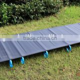 Outdoor super portable folding bed, camping aluminum alloy camp bed, folding bed,