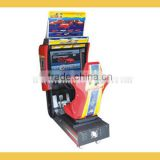 Reliable arcade racing car game machine best selling simulator dynamic racing for sale