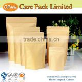 2016 laminated kraft stand up pouch with zipper                                                                         Quality Choice