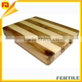 wood chopping board,wholesale custom fashion 15-by-12-Inch Block Cutting Board