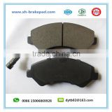 Citroen car brake pads D1540/4253.75/1275.01