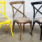 Wood X Cross Back Dining cross back chair wooden chair /Cross back chair                                                                         Quality Choice