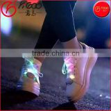 7 color changing shoelace multicolor flashing nylon shoelace Flashing shoe laces led light shoelace LED shoelace