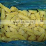 IQF frozen ginger dice/slice/BQF ginger paste/vegetables with BRC certificate