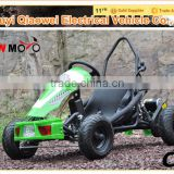 QWMOTO CE Certification 2015 New Ungraded Factory Sale Green Smalll Electric Go Kart Type Electric Go Kart car 500W