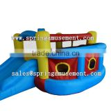 best selling home used inflatable oxford bouncer with slide for kids, inflatable mini nylon bouncer SP-MB037