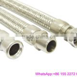 Hydraulic hose with end metal fittings