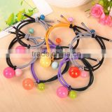 Hot Sale Korean Fashion Simulated Pearl Beads Rubber Band Elastic Hair Bands Girls Hair Accessories for Women Headwear