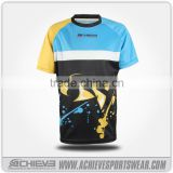 Full sublimated print soccer jersey 100% polyester soccer uniforms new style wholesale cheap football jersey