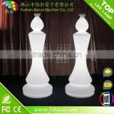 giant outdoor plastic led chess set
