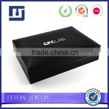 Wholesale Tie Clip box Cheap Black Cufflink Boxes with logo Hot Sale Jewelry Box                                                                         Quality Choice                                                     Most Popular