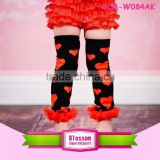 The lovers day with ruffle fashion Wholesale baby legwarmers