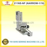 Industrial Sewing Machine Parts Needle Feed Machine Compensating Feet For KNIT Single Needle 211NS-NF (NARROW-1/16) Presser Feet
