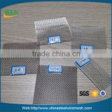 Alibaba China 110 120 150 mesh fine silver screen wire mesh / silver metal fabric