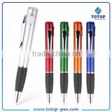 laser logo led torch flashing light pen with stylus                                                                                                         Supplier's Choice