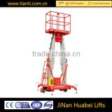 Distributors wanted electric hydraulic aluminum mast vertical one man lift ladder with ce certification