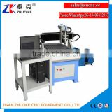 China Wood Acrylic CNC Carving Machine ZK-6090 600*900MM 3.2KW Water Cooling Spindle Ball PCI NcStudio Control System