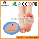Soft cooling lady pad forefoot socks anti slip forefoot socks with gel protective sock pads