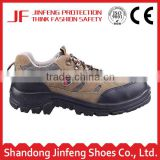 Low cut safety shoes type casual sport safety shoes suede leather breathable ce injection durable outdoors safety footwear
