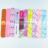 Wholesale custom printed nail file one side personalized emery board nail care tools factory