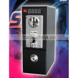 coin acceptor with coin box and time controller