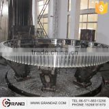Forged Carbon Steel Ring Gear For Cement Mixer
