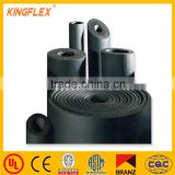 flexible elastomeric black rubber insulation roll sheet insulation for HVAC and aircondition