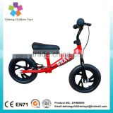 2016 New Model Balance Childrens Bikes ,Running Bicyc,No pedal Balance Kid Bikes,12 Inch Kid Balance Bike with steel frame
