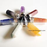 Chakra Tourmaline Conical Antenna With 7Pencil Energy Generator | Healing Crystals And Stones
