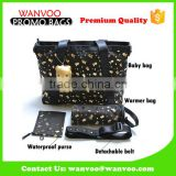 Fashion PU Accessories Mommy Tote Baby Diaper Bags