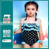 Cute trendy 1pcs lovely toddlers colorful baby clothing children thong girl nude micro kids bikini beachwear