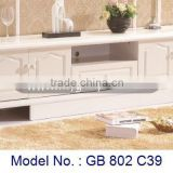 Simple High Class MDF Furniture TV Cabinet, corner lcd tv furniture, new model tv stand, living room furniture lcd tv stand