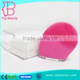 high quality new electric ultrasonic silicone face cleaning brush
