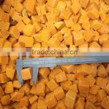 Frozen pumpkin Peeled Organic IQF frozen pumpkin price from China