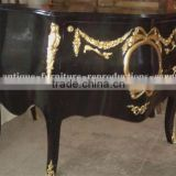 Black Painted commode