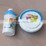PLASTIC BENTO LUNCH BOX WITH WATER BOTTLE COMPARTMENT BENTO LUNCH BOX KIDS LUNCH CONTAINERS WITH WATER BOTTLE CHILDREN PLAST