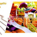 High quality bamboo split/clamp for satay direct from factory price