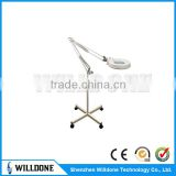 Skin Analyser 86E Floor Stand Magnifier 10x Lamp LED Magnifying Lamp Wholesale Vertical