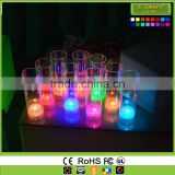 Light up Martini Cocktail Glasses,Flashing Wine Glass Inductive Color Cup,Glow Shot Glasses wholesale