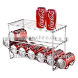 Chrome Metal Beverage Can Drink Dispensers
