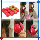 EH068 cute and beauty strawberry hair curler