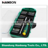 38 pcs telecommunications screwdriver bits set of CR-V material