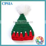 Unique Christmas Hats For Newborn Baby Green & Red Wool Knit Hats Beanie Crochet Baby Hat