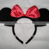 Panda and bowknot shape heeadband for Party/Festival