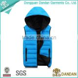 Men's custom outdoor duck down vest
