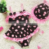 Hot Sale Baby Dot Bikini, Baby Beachwear, Baby Swim Sets new baby girl swimsuit