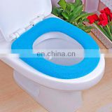 Hot sale super absorbent various colors cheap soft toilet seat cover