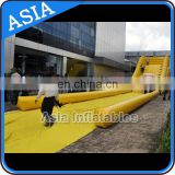 Outdoor big inflatable zorb ramp for zorb ball made of PVC tarpaulin from Guangzhou inflatble factory