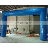 2015 new ! Right Angle blue color inflatable air arch, inflatable arch,